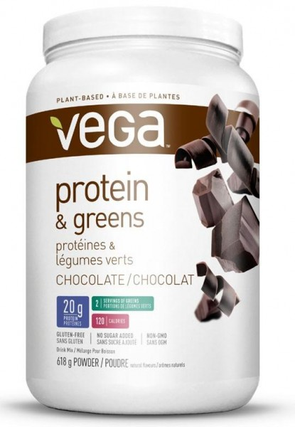 VEGA Protein & Greens - Chocolate, 618g