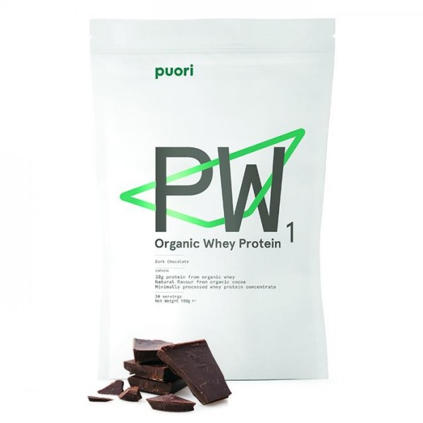 PUORI PW1 - Pure Whey Dark Chocolate, bio