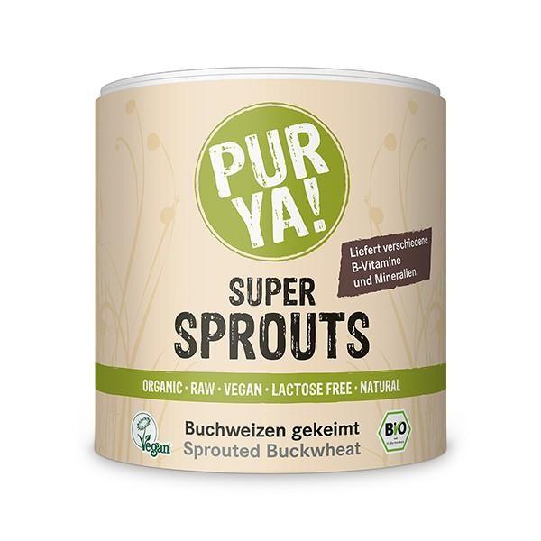 PURYA! Super Sprouts - Bio Buchweizen gekeimt