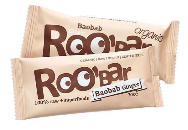 ROOBAR Baobab & Ingwer 20 x 30g, Bio