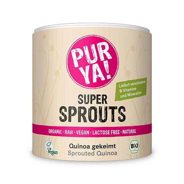 PURYA! Super Sprouts - Bio Quinoa gekeimt
