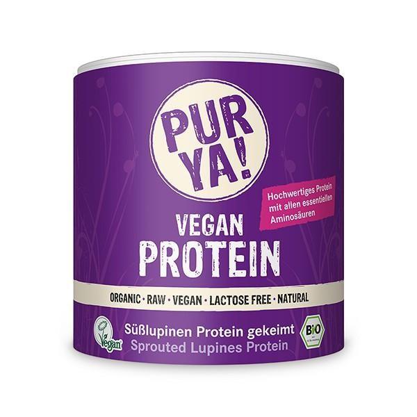 PURYA! Bio Vegan Protein - Süßlupinen Protein gekeimt