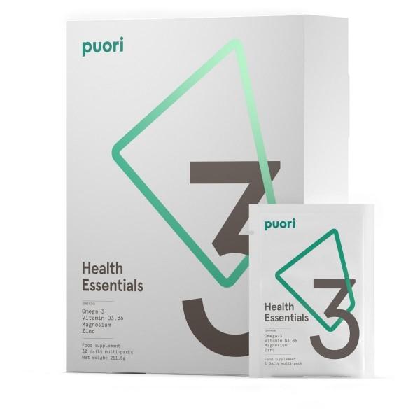 PUORI PP3 - Multi Vitamin & Mineral, 30 Tagespäckchen