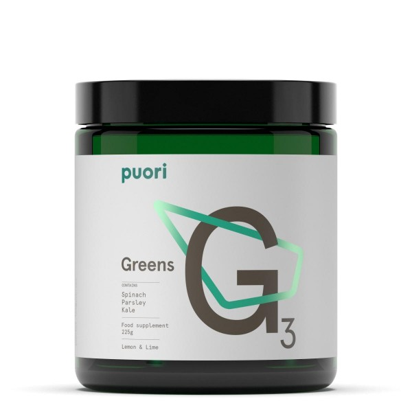 PUORI Greens Lemon/Lime