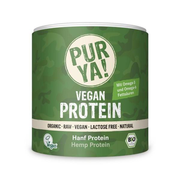 PURYA! Bio Vegan Protein - Hanfprotein