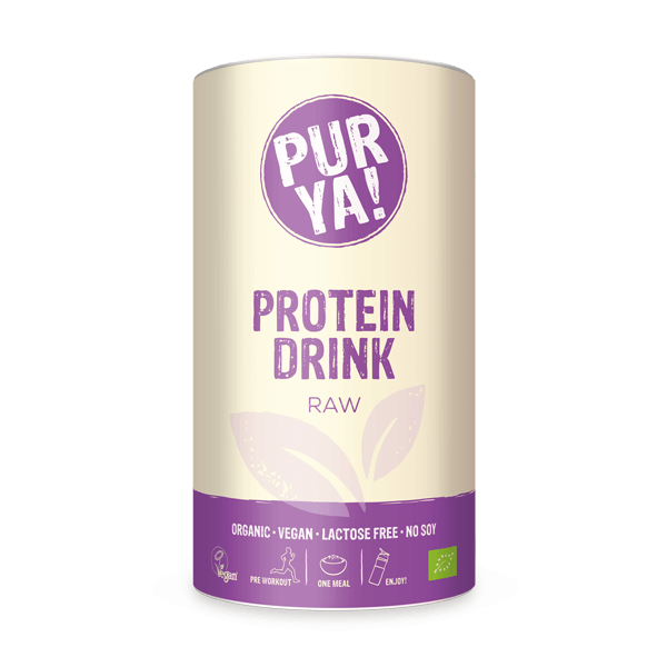PURYA! Vegan Protein Drink - Raw, 550g