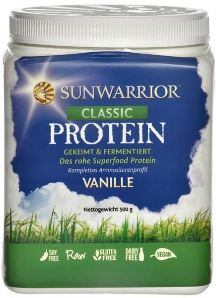 Sun Warrior, Classic - Reisproteine Vanille 500g