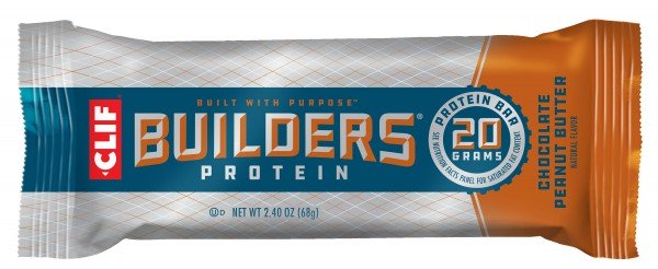 CLIF Builders® Proteinriegel - Chocolate Peanut Butter, 68g