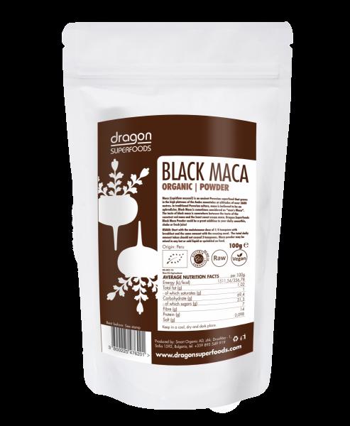 Black Maca Pulver Roh, Bio