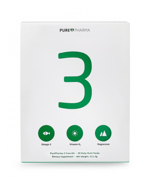 PurePharma PP3 - Multi Vitamin & Mineral, 30 Tagespäckchen