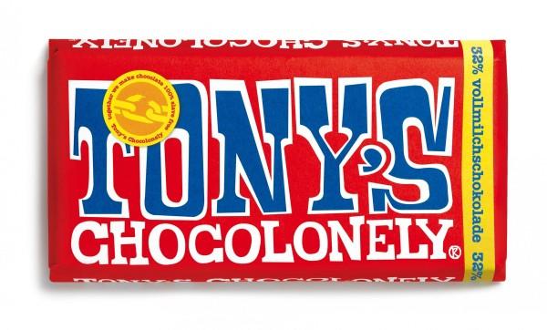 TONY'S CHOCOLONELY® Vollmilchschokolade 32%, 15 X 180g