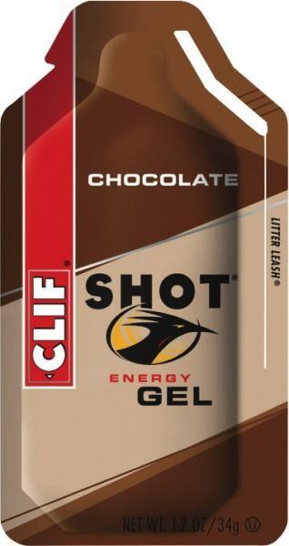 CLIF SHOT ® Gel Chocolate, 24 x 34g