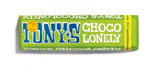 TONY'S CHOCOLONELY® Zartbitterschokolade 51%, Mandel Meersalz, 35 X 47g