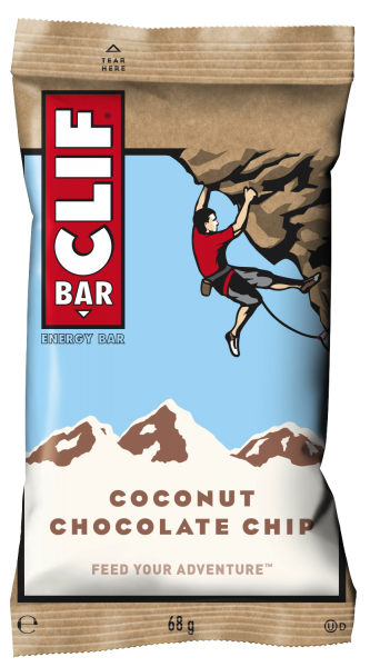 CLIF BAR® Energieriegel Coconut Chocolate Chip, 12er Box