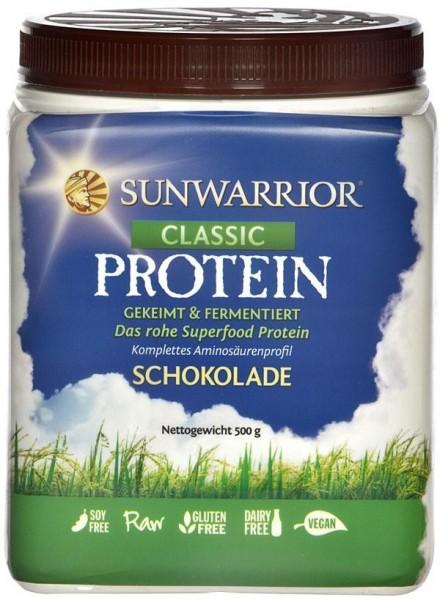 Sun Warrior, Classic - Reisproteine Schokolade 500g