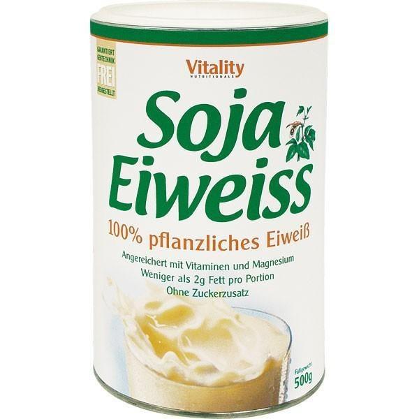 Veganes Eiweisspulver aus Soja - Schoko