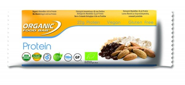 Organic Food Bar - Protein, BIO - 12 x 75g Riegel