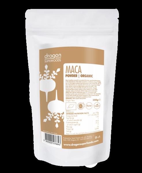 Maca Pulver Bio 200 g