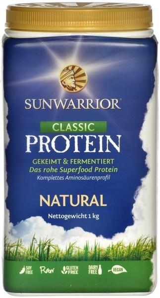 Sun Warrior Classic - Reisprotein - Natur, 1000g