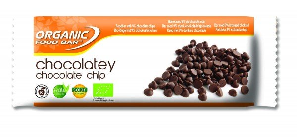 Organic Food Bar - Chocolatey Choco Chip, BIO - 12 x 50g