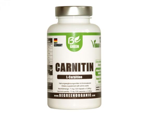 Veganes L-Carnitin Kapseln