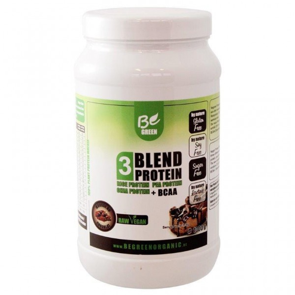 Be Green 3-Blendprotein 1000g Mousse au Chocolat