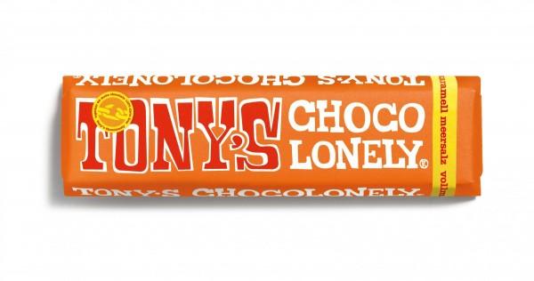 TONY'S CHOCOLONELY® Vollmilchschokolade 32% Karamell Meersalz, 35 X 47g