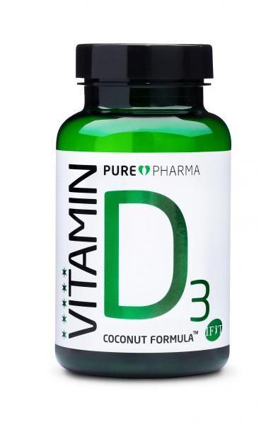 Pure Pharma D3 - Vitamin D3 Kapseln