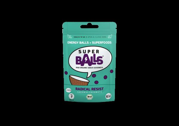 Superballs Radical Resist (Aronia-Coconut) 8 x 48g, Bio