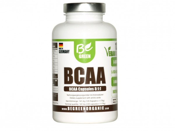 Vegane BCAA Kapseln