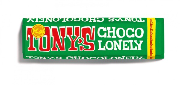 TONY'S CHOCOLONELY® Vollmilchschokolade 32% Haselnuss, 35 X 47g