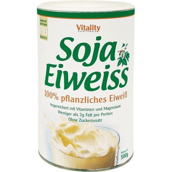 Veganes Eiweisspulver aus Soja - Banane