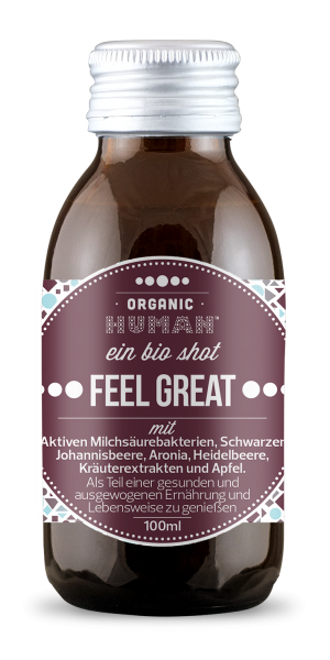 Organic Human Feel Great 100ml - Apfel